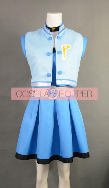 Powerpuff Girls Z Miyako Gotokuji Bubbles Cosplay Costume