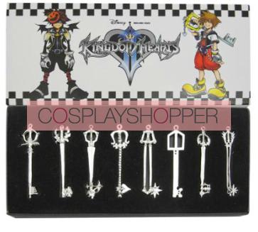 Kingdom Hearts Pendant Set