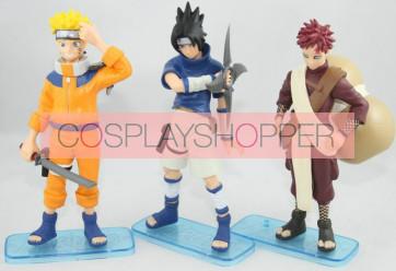 3-Piece Naruto Mini PVC Action Figure Set