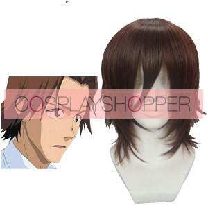 Brown 32cm Bleach Asano Keigo Cosplay Wig