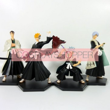 4-Piece Bleach Mini PVC Action Figure Set - B