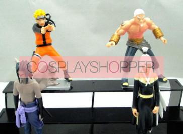4-Piece Naruto Mini PVC Action Figure Set - A