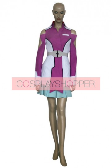 Gundam Seed Destiny Stellar Loussier Military Uniform Cosplay