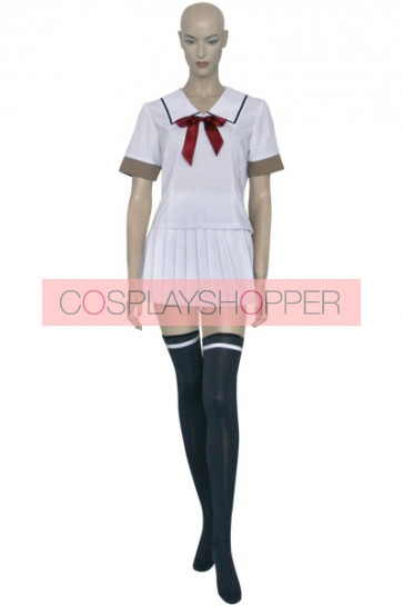 Fruits Basket Kisa Sohma White Cosplay Costume