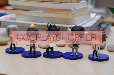 5-Piece Katekyo Hitman Reborn Mini PVC Action Figure Set - C