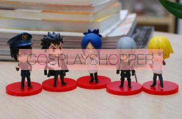 5-Piece Katekyo Hitman Reborn Mini PVC Action Figure Set - D