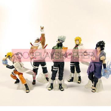 5-Piece Naruto Mini PVC Action Figure Set