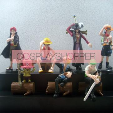 7-Piece One Piece Mini PVC Action Figure Set