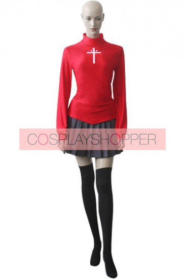 FateStay Night Rin Tohsaka Cosplay Costume