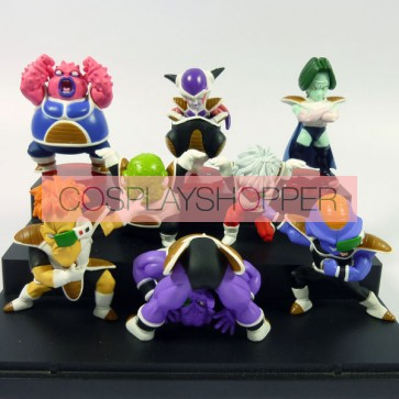 8-Piece Dragon Ball Goku Mini PVC Action Figure Set - A