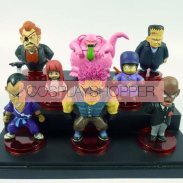 8-Piece Dragon Ball Goku Mini PVC Action Figure Set - C