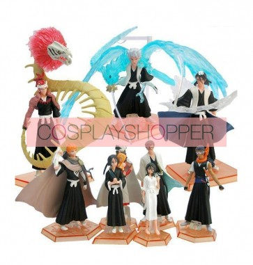 9-Piece Bleach Mini PVC Action Figure Set