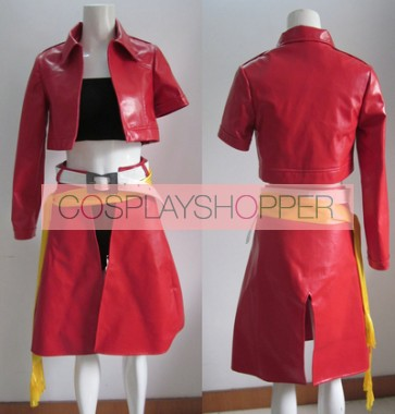Vocaloid Meiko Red Cosplay Costume