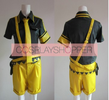 Vocaloid 2 Love is War Kagamine Len Cosplay Costume
