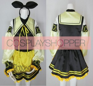 Vocaloid Alice Human Sacrifice Kagamine Rin Cosplay Costume