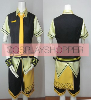 Vocaloid Alice Human Sacrifice Kagamine Len Cosplay Costume