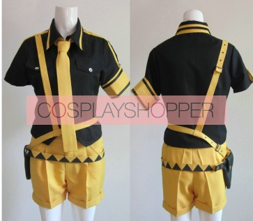 Vocaloid 2 Love is War Kagamine Len Cosplay Costume - 2nd Edition