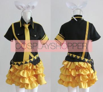Vocaloid 2 Love is War Kagamine Rin Cosplay Costume