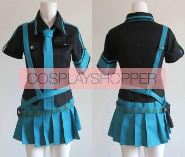 Vocaloid 2 Love is War Hatsune Miku Blue Cosplay Costume