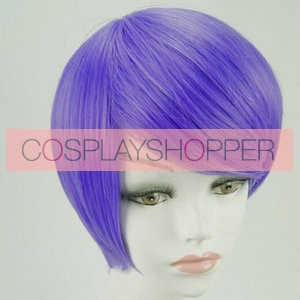 Purple 30cm Tokyo Ghoul Shu Tsukiyama Cosplay Wig