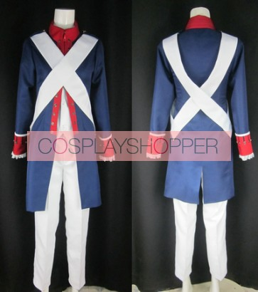 Axis Powers Hetalia America War of Independence Cosplay Costume