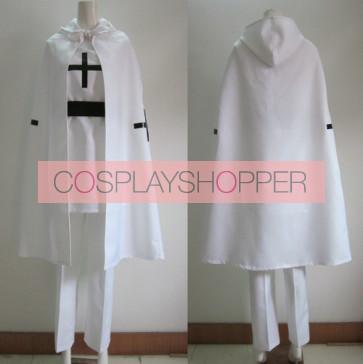 Axis Powers Hetalia Prussia Uniform White Cosplay Costume