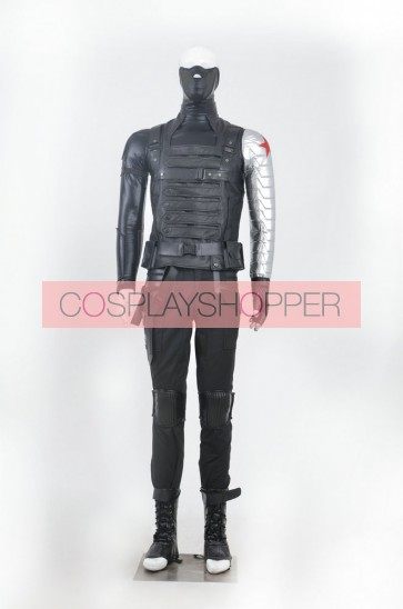 Captain America The Winter Soldier Winter Soldier Cosplay Costume