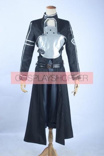 Sword Art Online 2 Phantom Bullet Gun Gale Online GGO Kirito Cosplay Costume