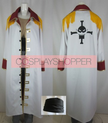 One Piece Whitebeard Edward Newgate Cosplay Costume