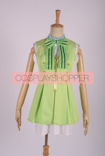 Love Live! School Idol Project Kotori Minami Cosplay Green Dress