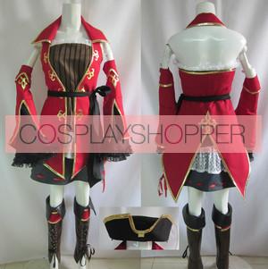 Hatsune Miku: Project DIVA Pirate Cosplay Costume