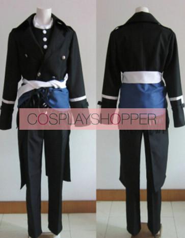 Hakuouki Hajime Saito Cosplay Costume