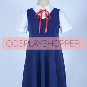 Gugure! Kokkuri-san Kohina Ichimatsu School Summer Uniform Cosplay Costume