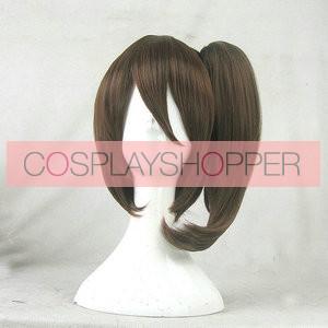 Brown 30cm Kantai Collection Kaga Cosplay Wig