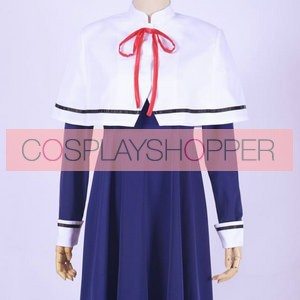Gugure! Kokkuri-san Kohina Ichimatsu School Winter Uniform Cosplay Costume