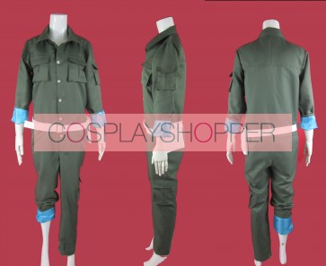 Katekyo Hitman Reborn! Spanner Cosplay Costume