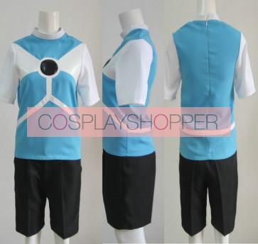 Inazuma Eleven Diamond Dust Soccer Uniform Cosplay Costume (Black Shorts)