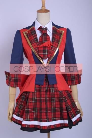 AKB0048 Yuko Oshima the 9th Girl Uniform Cosplay Costume