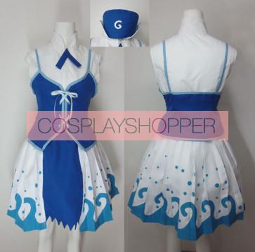 Fairy Tail Juvia Lockser Dress Cosplay Costume