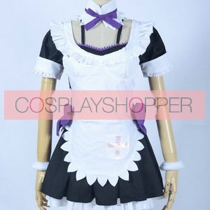 Love Live! Maki Nishikino Maid Cosplay Costume