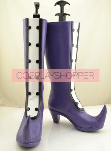 Ojamajo Doremi Magical DoReMi Purple Cosplay Boots