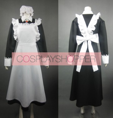 Maoyu Mao Yusha Archenemy and Hero Big Sister Maid Cosplay Costume