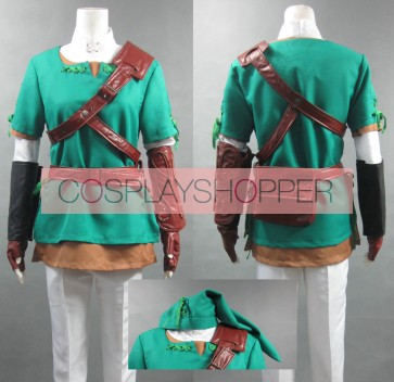 The Legend of Zelda Link Cosplay Costume - 3rd Edition