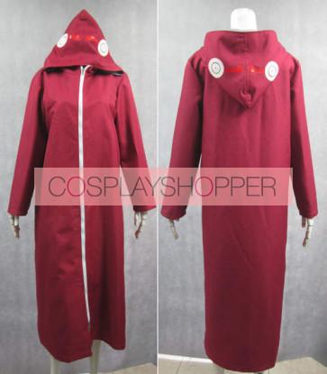 Naruto Kabuto Yakushi Cloak Cosplay Costume