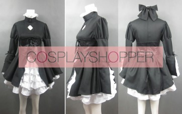 Fate/stay night Saber Black Cosplay Costume