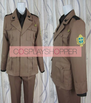 Axis Powers Hetalia Italy Uniform Cosplay Costume