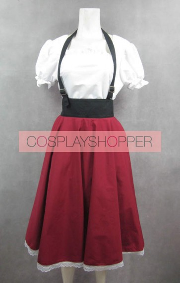 Axis Powers Hetalia Italy Female Cosplay Costume