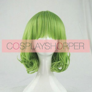 Green 35cm AKB0048 Suzuko Kanzaki Cosplay Wig