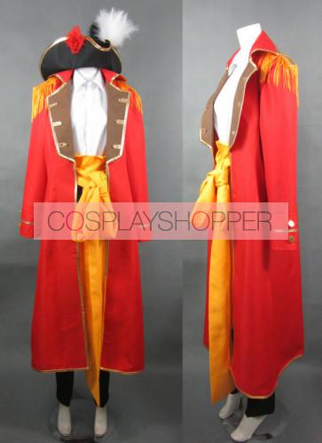 Axis Powers Hetalia Spain Cosplay Costume (Orange)