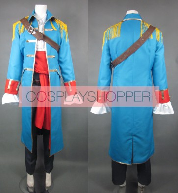 Kuroshitsuji Black Butler Ciel Phantomhive Sky Blue Cosplay Uniform